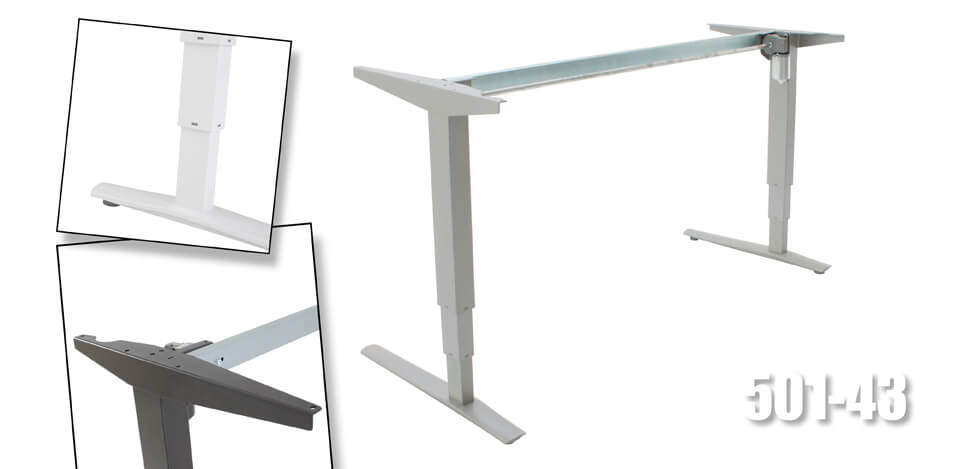 Electric Sit Stand Height Adjustable Desk Frames For Various ...